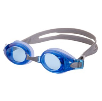 Hilco Leader Sports Velocity Complete Swim Goggle, Blue with Minus Lens Power Goggles